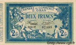 2 Francs FRANCE régionalisme et divers Oran 1915 JP.141.21 SPL à NEUF