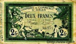 2 Francs FRANCE régionalisme et divers ORAN 1915 JP.141.21 TB