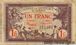 1 Franc FRANCE régionalisme et divers Oran 1920 JP.141.23 TB