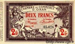 2 Francs FRANCE régionalisme et divers ORAN 1920 JP.141.24 SPL à NEUF