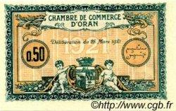 50 Centimes FRANCE régionalisme et divers Oran 1921 JP.141.25 SPL à NEUF