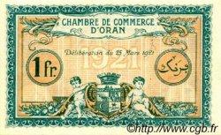 1 Franc FRANCE régionalisme et divers ORAN 1921 JP.141.27 SPL à NEUF