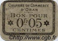 5 Centimes FRANCE régionalisme et divers ORAN 1916 JP.141.42 TTB à SUP