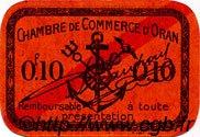 10 Centimes FRANCE régionalisme et divers Oran 1916 JP.141.47 TTB à SUP