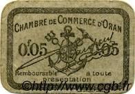 5 Centimes FRANCE régionalisme et divers Oran 1916 JP.141.48 TTB à SUP