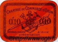 10 Centimes FRANCE régionalisme et divers Oran 1916 JP.141.49 SPL à NEUF