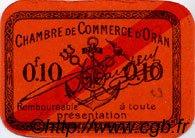 10 Centimes FRANCE régionalisme et divers ORAN 1916 JP.141.49 TTB à SUP