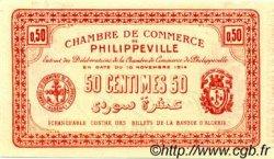 50 Centimes FRANCE régionalisme et divers PHILIPPEVILLE 1914 JP.142.01 SPL à NEUF