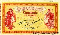 50 Centimes FRANCE régionalisme et divers Philippeville 1914 JP.142.01 TTB à SUP