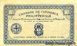 1 Franc FRANCE régionalisme et divers Philippeville 1914 JP.142.02 TTB à SUP