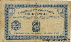 1 Franc FRANCE régionalisme et divers Philippeville 1914 JP.142.02 TB
