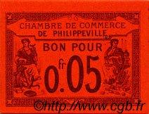 5 Centimes FRANCE régionalisme et divers PHILIPPEVILLE 1915 JP.142.12 SPL à NEUF