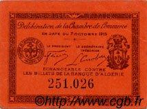 5 Centimes FRANCE régionalisme et divers PHILIPPEVILLE 1915 JP.142.12 TTB à SUP