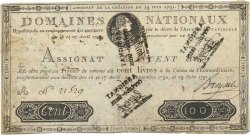 100 Livres Faux FRANCE  1791 Ass.15b TTB