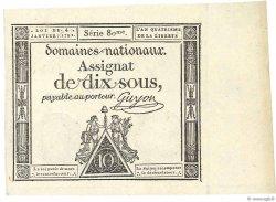 10 Sous FRANCE  1792 Ass.23a NEUF