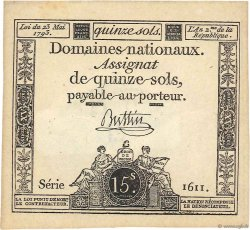 15 Sols FRANCE  1793 Ass.41b SPL