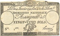 25 Sols FRANCE  1792 Ass.25a SUP