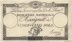 25 Sols FRANCE  1792 Ass.25d var SPL