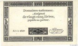 25 Livres FRANCE  1793 Ass.43a SPL