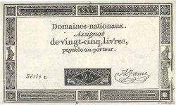 25 Livres FRANCE  1793 Ass.43b SPL