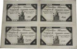 50 Livres FRANCE  1792 Ass.39a-p SUP