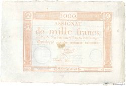 1000 Francs FRANCE  1795 Ass.50a SUP+