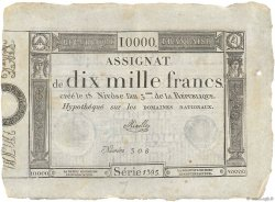 10000 Francs FRANCE  1795 Ass.52a pr.NEUF