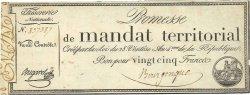 25 Francs sans série FRANCE  1796 Ass.59a SPL