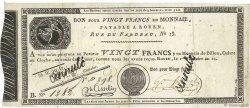 20 Francs FRANCE  1804 PS.245b TTB+