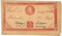 500 Livres FRANCE  1794 Laf.278 SUP+