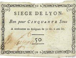 50 Sous FRANCE régionalisme et divers  1793 Kol.81d SUP