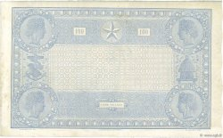 100 Francs type 1862 Indices Noirs FRANCE  1874 F.A39.10 VF+