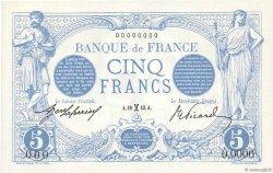 5 Francs BLEU FRANCE  1913 F.02.00 NEUF