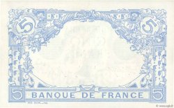 5 Francs BLEU FRANCE  1915 F.02.25 pr.SPL