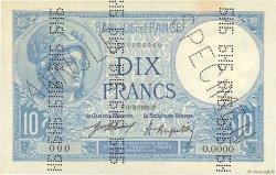 10 Francs MINERVE FRANCE  1921 F.06.00 TTB+