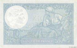 10 Francs MINERVE modifié FRANCE  1942 F.07.31 SUP à SPL