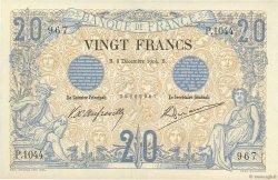 20 Francs NOIR FRANCE  1904 F.09.03 SUP+