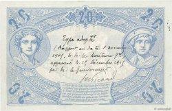 20 Francs BLEU FRANCE  1905 F.10.00 pr.NEUF