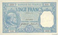 20 Francs BAYARD FRANCE  1916 F.11.01 SUP à SPL