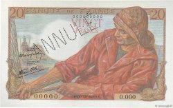 20 Francs PÊCHEUR FRANCE  1942 F.13.00s2 NEUF