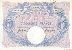 50 Francs BLEU ET ROSE FRANCE  1920 F.14.00 pr.NEUF