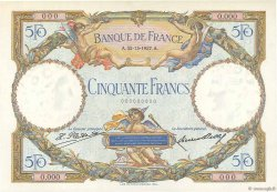 50 Francs LUC OLIVIER MERSON FRANCE  1927 F.15.00 pr.NEUF