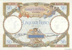 50 Francs LUC OLIVIER MERSON FRANCE  1929 F.15.03 pr.SPL