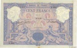 100 Francs BLEU ET ROSE FRANCE  1889 F.21.02 TTB+
