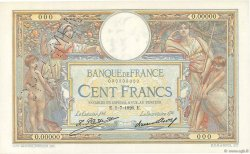 100 Francs LUC OLIVIER MERSON grands cartouches FRANCE  1926 F.24.00s1 pr.NEUF