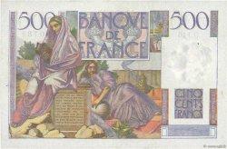 500 Francs CHATEAUBRIAND FRANCE  1953 F.34.13 TTB+