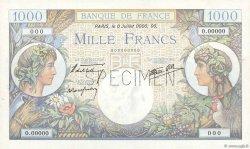 1000 Francs COMMERCE ET INDUSTRIE FRANCE  1940 F.39.00s1 SPL