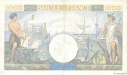 1000 Francs COMMERCE ET INDUSTRIE FRANCE  1941 F.39.04 XF