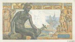1000 Francs DÉESSE DÉMÉTER FRANCE  1943 F.40.33 TTB+