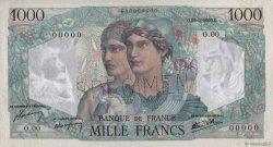 1000 Francs MINERVE ET HERCULE FRANCE  1945 F.41.00 SPL+